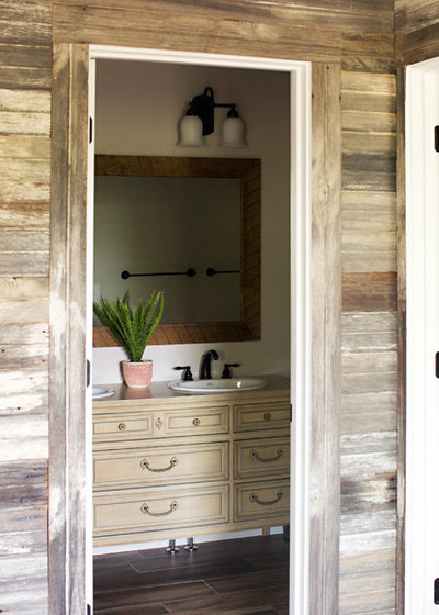 Farmhouse Bathroom by Parisi Images