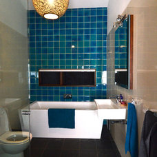 Eclectic Bathroom by Jeni Lee