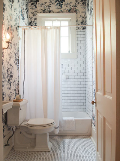 Traditional Bathroom by Kayla Stark