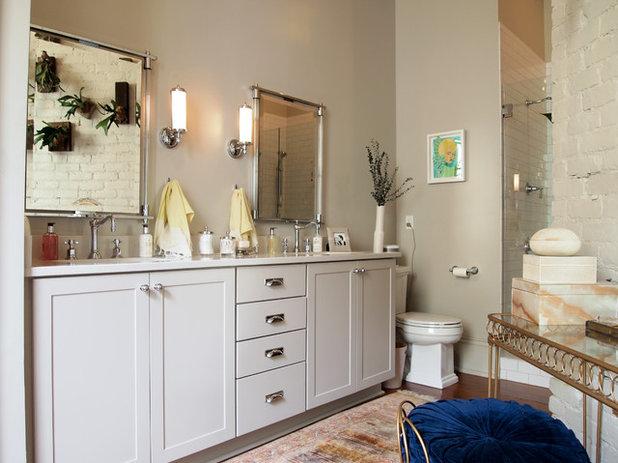 Eclectic Bathroom by Kayla Stark