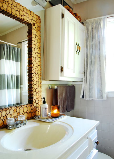 Good Eclectic Bathroom by Corynne Pless