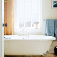 Transitional Bathroom by Andrew Snow Photography