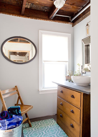 Good Eclectic Bathroom by Rikki Snyder