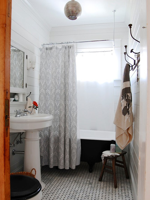 Clawfoot Tub Shower Ideas, Pictures, Remodel and Decor