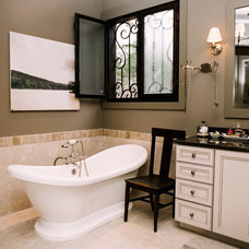 Traditional Bathroom by Two Ellie