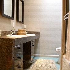 Beach Style Bathroom by Shannon Malone