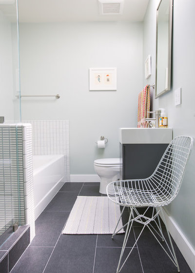 Contemporary Bathroom by Nanette Wong
