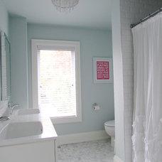 Contemporary Bathroom by Jenn Hannotte / Hannotte Interiors