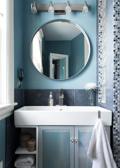 New Transitional Bathroom by Danielle Sykes