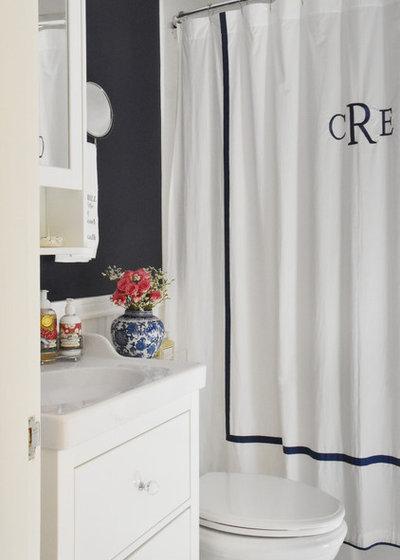 Transitional Bathroom by Design Fixation [Faith Provencher]