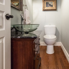 Traditional Bathroom by Becki Peckham