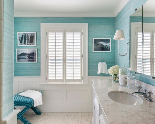 27 teen beach style bathroom design photos - Beach Style Bathroom