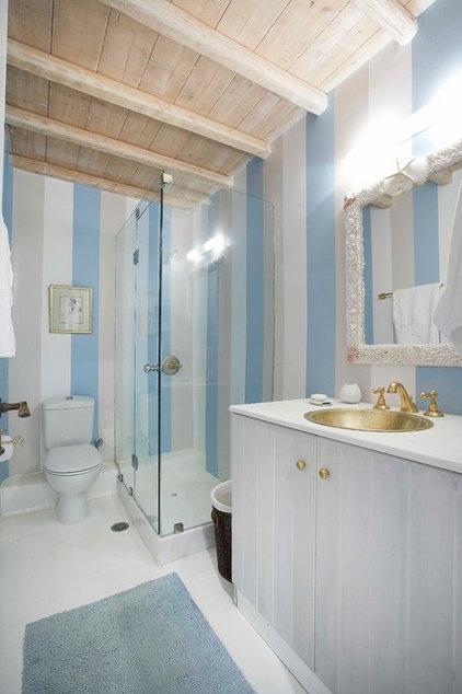 Mediterranean Bathroom by Mykonos Panormos Villas