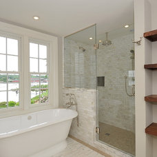 Traditional Bathroom by Steven Young Architect + Fine Home Builder