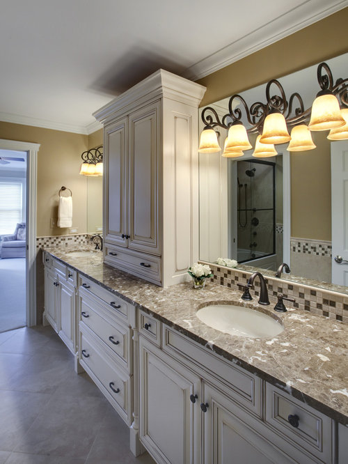 distressed bathroom | houzz