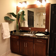 Traditional Bathroom by Graystone Design + Build