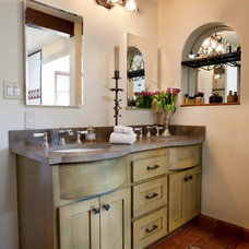 Mediterranean Bathroom by Priority 1 Project Management