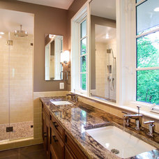 Traditional Bathroom by D.W. Dively Construction Services