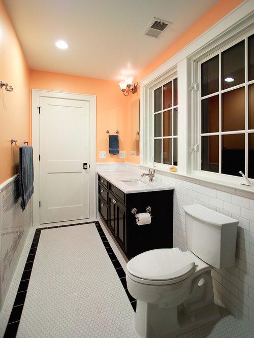 Peach Bathroom Houzz