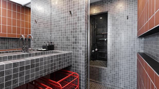Лофт Ванная комната by buro5