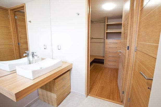 Cuarto de ba o espacio nico o compartimentado for Sonar con cuarto de bano