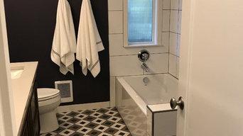 Nancy Pattern Floor Bathroom