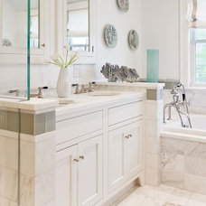 Transitional Bathroom by Eric Roseff Designs