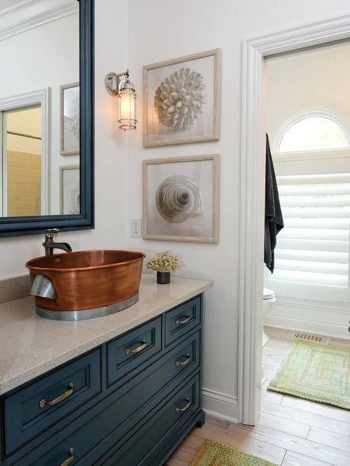 best navy blue bathroom cabinets design ideas  remodel pictures, Bathroom decor