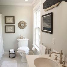 Traditional Bathroom by Beach Glass Interior Designs