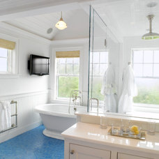Beach Style Bathroom by Nantucket Architecture Group Ltd.