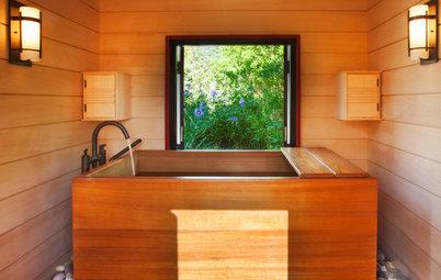 Soaking Tub Provides a Relaxing Escape