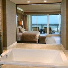 Beach Style Bathroom by W Design Interiors