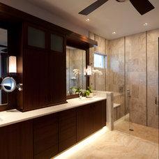 Contemporary Bathroom by Harwick Homes