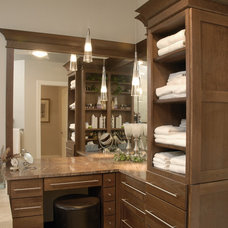 Contemporary Bathroom by Naples Cabinets, Inc.