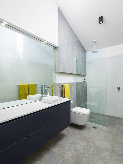 Wall Mounted Bathroom Cabinet Design Ideas & Remodel Pictures | Houzz