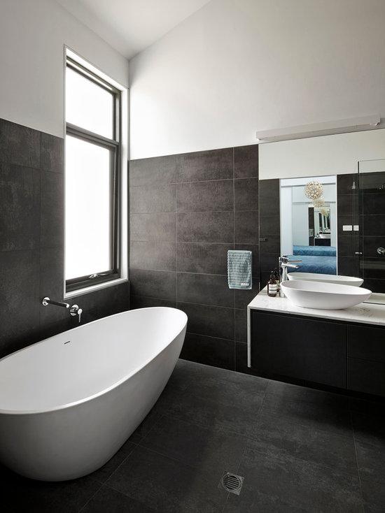 Modern Half Bathroom Design modern bathroommodern bathroom half bath 1 enlarge 2 of 9. small
