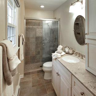 Narrow bathroom remodel
