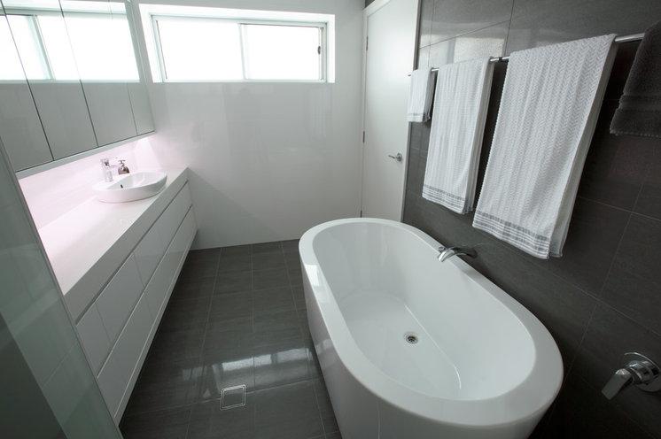 Contemporary Bathroom by mcrae + lynch interior design