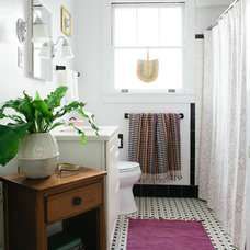 Eclectic Bathroom by Logan Killen Interiors