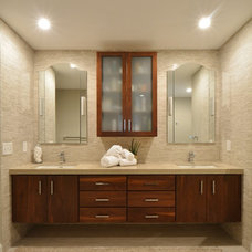 Contemporary Bathroom by The Wiese Company