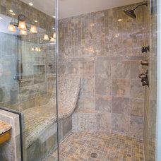 Traditional Bathroom by Lori Jolin Design, LLC.