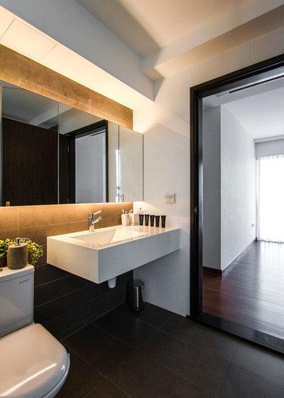 Contemporary Bathroom by AO Studios