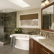 Contemporary Bathroom by Signature Design & Cabinetry LLC