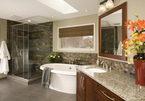 Contemporary Bathroom by Signature Design & Cabinetry LLC