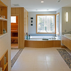modern bathroom by Brennan + Company Architects