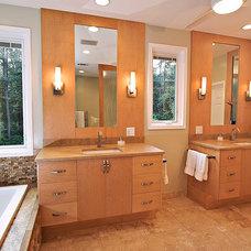 Modern Bathroom by Designs by BSB