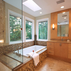 modern bathroom by Designs by BSB