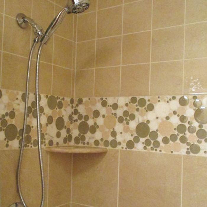 BIG SPLASH for a Small Bath Remodel