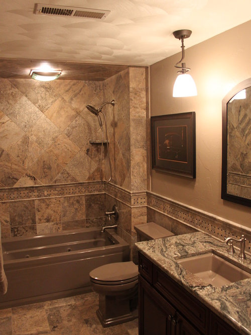 Natural Stone Bathroom Houzz