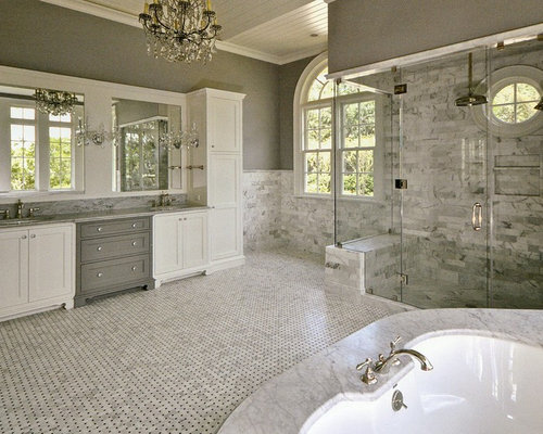 Natural Stone Bathroom Designs Simple Natural Stone Bathroom  Houzz Decorating Inspiration
